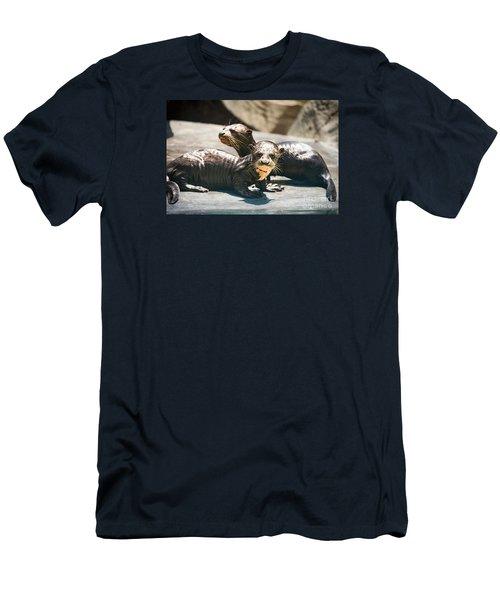 Siblings Men's T-Shirt (Slim Fit) by Jamie Pham