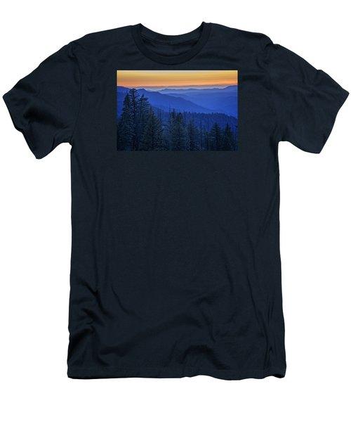 Sierra Fire Men's T-Shirt (Slim Fit) by Rick Berk