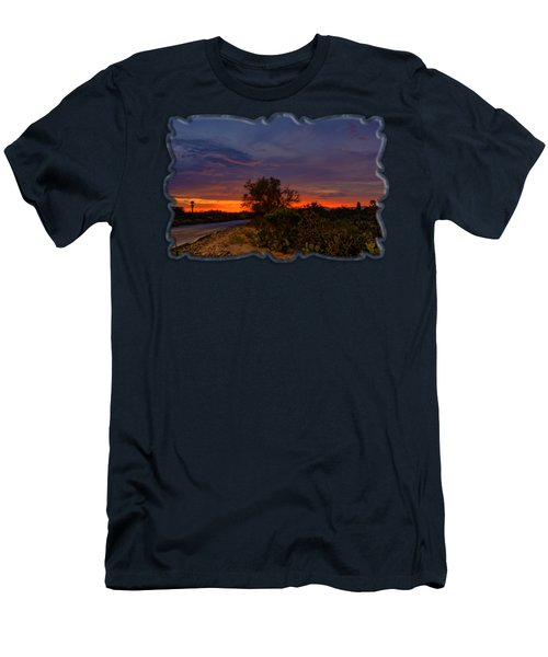 Sonoran Sunset H48 Men's T-Shirt (Slim Fit) by Mark Myhaver