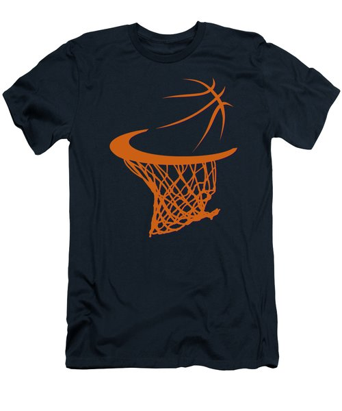 Suns Basketball Hoop Men's T-Shirt (Slim Fit) by Joe Hamilton