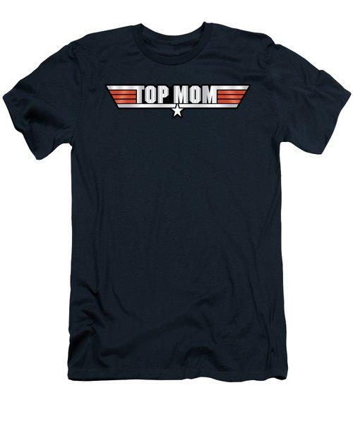 Top Mom Callsign Men's T-Shirt (Slim Fit) by Fernando Miranda