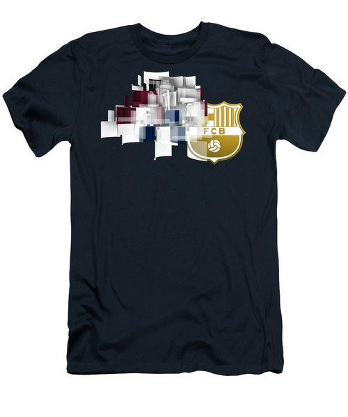 Tribute To Fc Barcelona 6 Men's T-Shirt (Slim Fit) by Alberto RuiZ