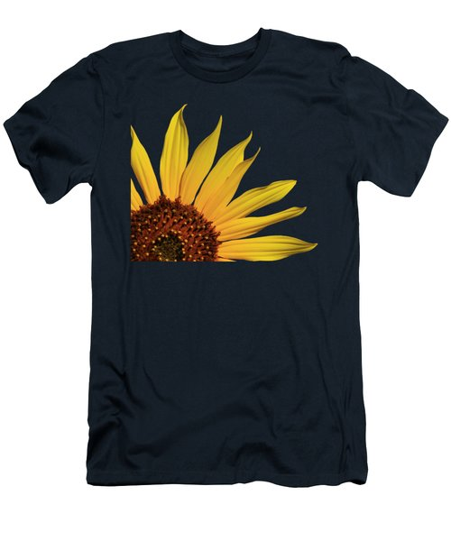 Wild Sunflower Men's T-Shirt (Slim Fit) by Shane Bechler