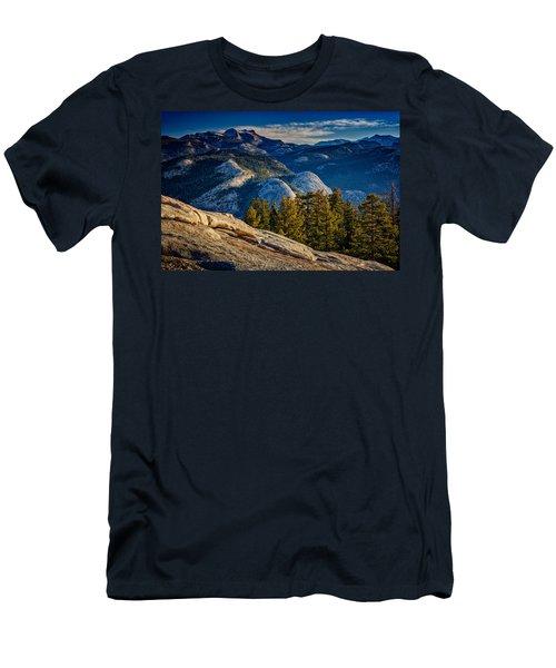 Yosemite Morning Men's T-Shirt (Slim Fit) by Rick Berk