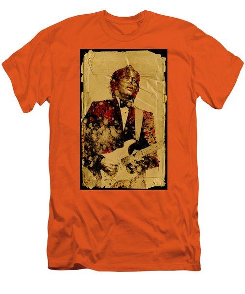 Eric Clapton 2 Men's T-Shirt (Slim Fit) by Bekim Art