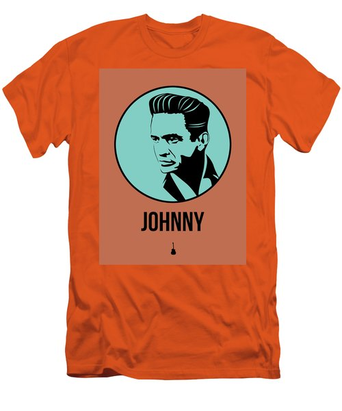 Johnny Poster 1 Men's T-Shirt (Slim Fit) by Naxart Studio