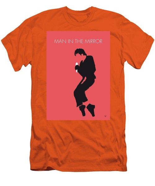 No032 My Michael Jackson Minimal Music Poster Men's T-Shirt (Slim Fit) by Chungkong Art
