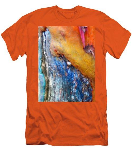 Men's T-Shirt (Slim Fit) featuring the digital art Ganesh by Richard Laeton