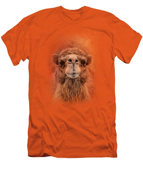 Dromedary Camel Men's T-Shirt (Slim Fit) by Jai Johnson