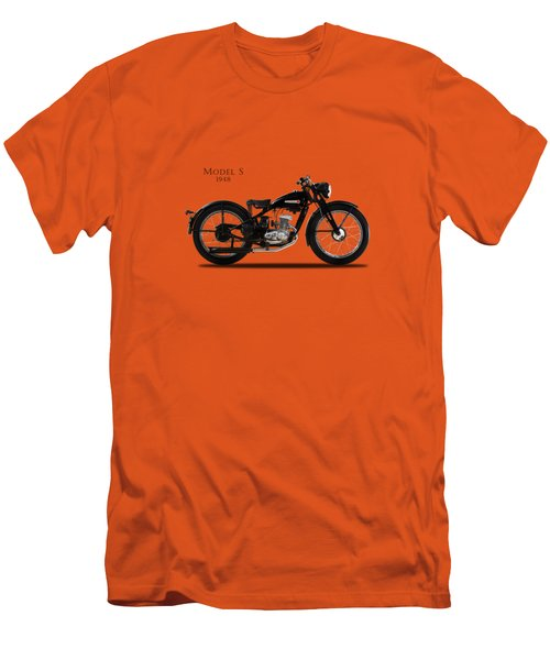 Harley-davidson Model S Men's T-Shirt (Slim Fit) by Mark Rogan