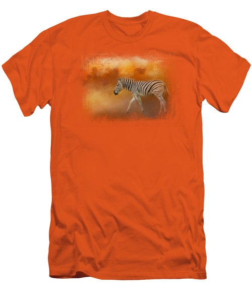 In The Heat Of Summer Men's T-Shirt (Slim Fit) by Jai Johnson