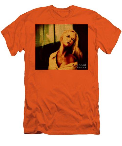 Miss U  Men's T-Shirt (Slim Fit) by Felix Von Altersheim