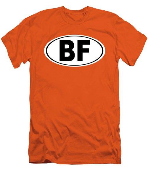 Oval Bf Beaver Falls Pennsylvania Home Pride Men's T-Shirt (Slim Fit) by Keith Webber Jr