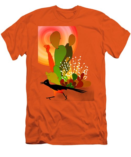 Roadrunner Sunrise Men's T-Shirt (Slim Fit) by Methune Hively