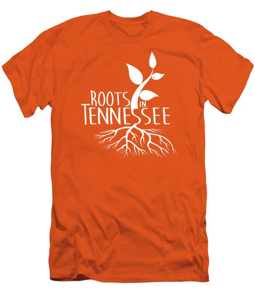 Roots In Tennessee Seedlin Men's T-Shirt (Slim Fit) by Heather Applegate