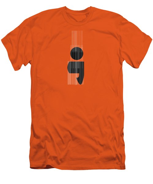 Semicolon Men's T-Shirt (Slim Fit) by Bill Owen