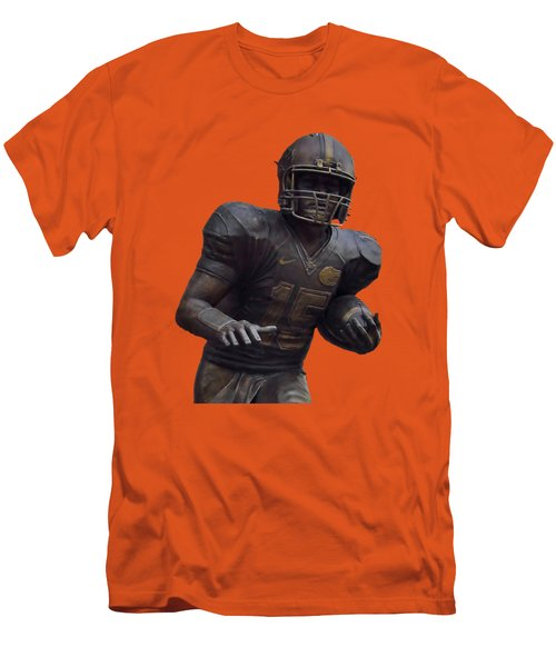 Tebow Transparent For Customization Men's T-Shirt (Slim Fit) by D Hackett