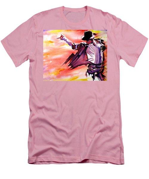 Michael Jackson-billie Jean Men's T-Shirt (Slim Fit) by Joshua Morton