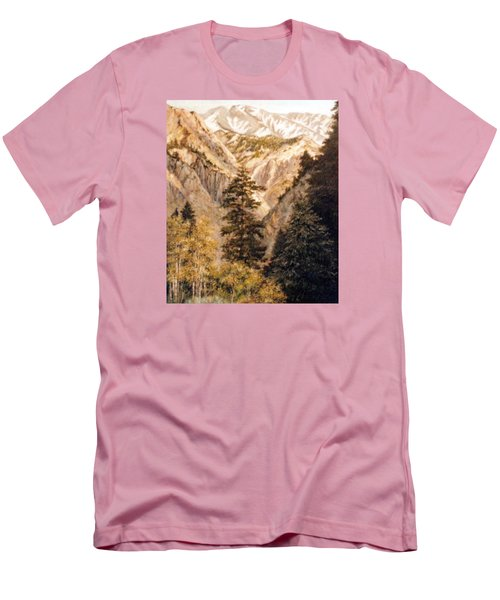 Shirley Temple Mine Men's T-Shirt (Slim Fit) by Donna Tucker