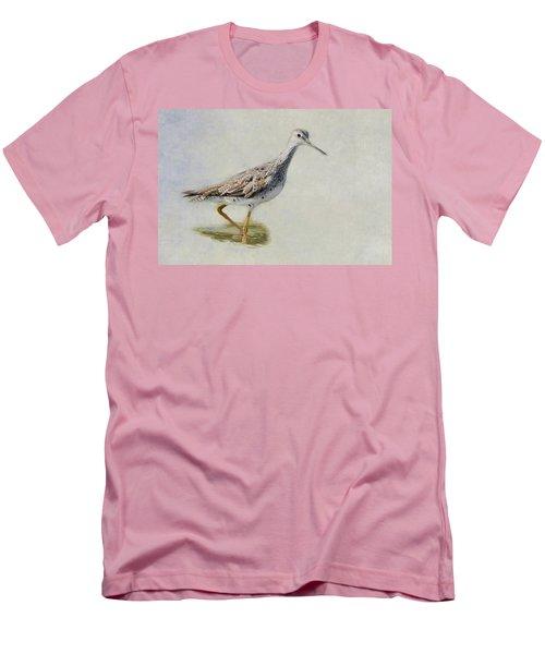 Yellowlegs Men's T-Shirt (Slim Fit) by Bill Wakeley