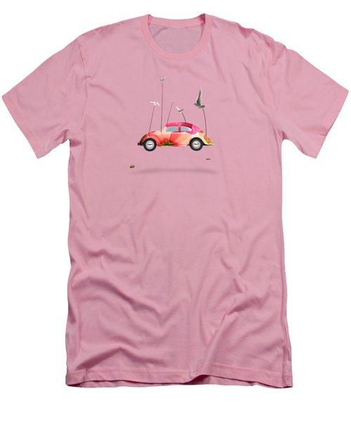 Suriale Cars  Men's T-Shirt (Slim Fit) by Mark Ashkenazi