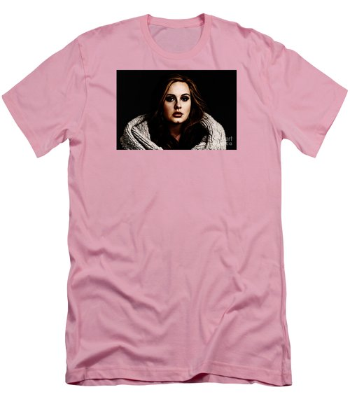Adele Men's T-Shirt (Slim Fit) by The DigArtisT