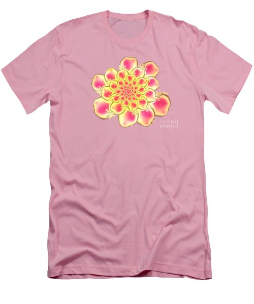 Lotus Men's T-Shirt (Slim Fit) by Anastasiya Malakhova