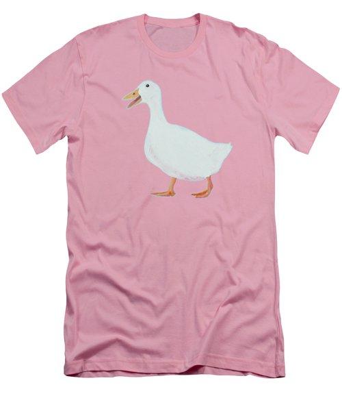 Goose Named Audrey Men's T-Shirt (Slim Fit) by Jan Matson