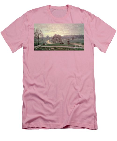 Hyde Park Men's T-Shirt (Slim Fit) by Claude Monet