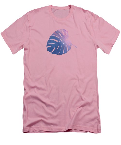 Leaf Abstract 1 Men's T-Shirt (Slim Fit) by Art Spectrum