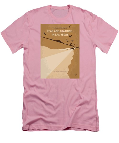 No293 My Fear And Loathing Las Vegas Minimal Movie Poster Men's T-Shirt (Slim Fit) by Chungkong Art