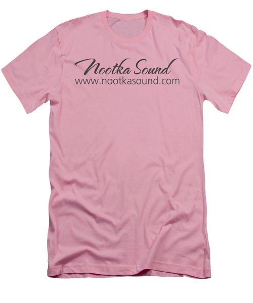 Nootka Sound Logo #9 Men's T-Shirt (Slim Fit) by Nootka Sound