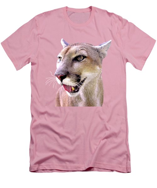 Seeing But Not Looking Men's T-Shirt (Slim Fit) by Sabrina Wheeler