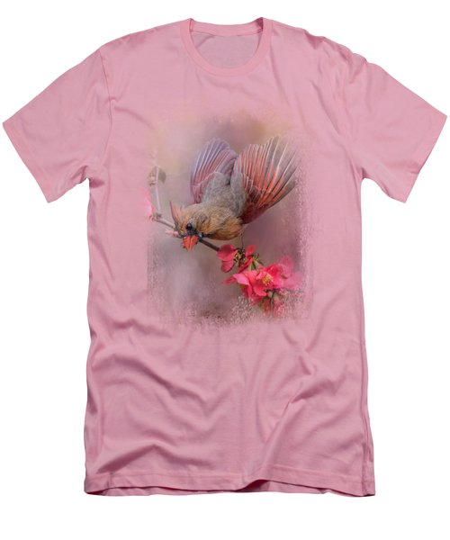 Spring Cardinal 2 Men's T-Shirt (Slim Fit) by Jai Johnson