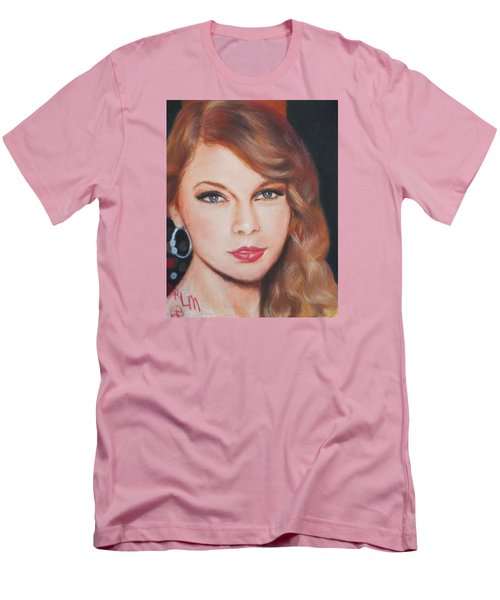 Taylor Swift  Men's T-Shirt (Slim Fit) by Ronnie Melvin