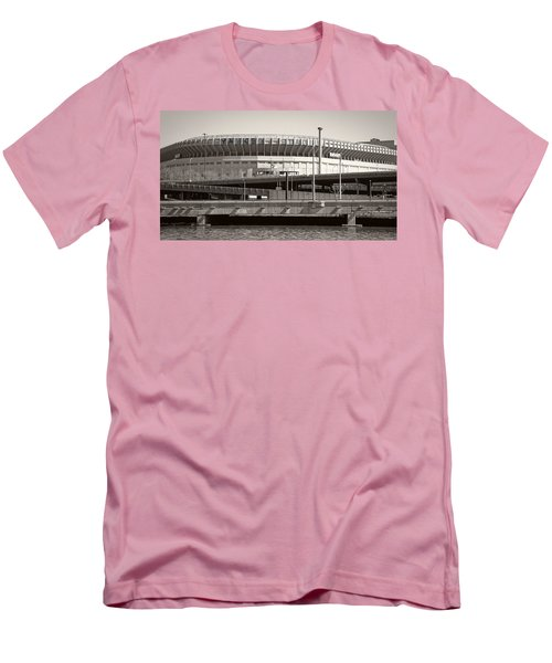 Yankee Stadium    1923  -  2008 Men's T-Shirt (Slim Fit) by Daniel Hagerman