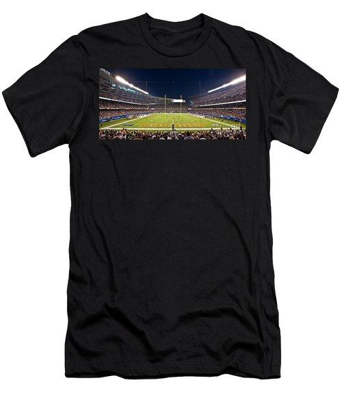 0587 Soldier Field Chicago Men's T-Shirt (Slim Fit) by Steve Sturgill