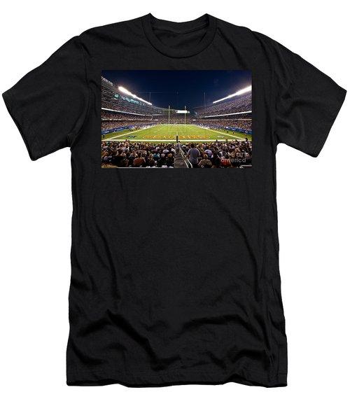 0588 Soldier Field Chicago Men's T-Shirt (Slim Fit) by Steve Sturgill