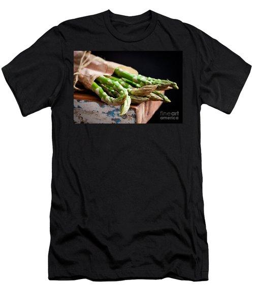 Asparagus Men's T-Shirt (Slim Fit) by Kati Molin
