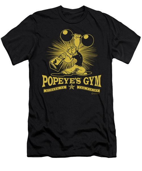 Popeye - Popeyes Gym Men's T-Shirt (Slim Fit) by Brand A