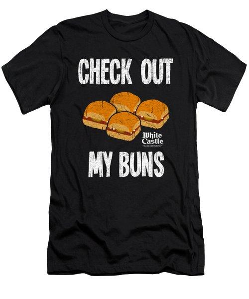 White Castle - My Buns Men's T-Shirt (Slim Fit) by Brand A