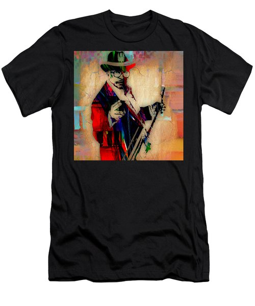 Bo Diddley Collection Men's T-Shirt (Slim Fit) by Marvin Blaine