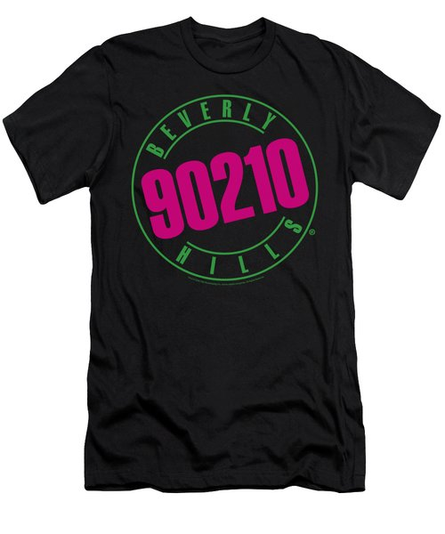 90210 - Neon Men's T-Shirt (Slim Fit) by Brand A