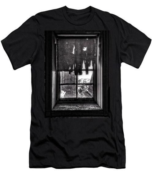 Abandoned Window Men's T-Shirt (Slim Fit) by H James Hoff
