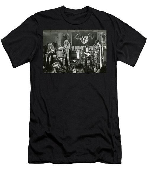 Aerosmith - Aerosmith Tour 1973 Men's T-Shirt (Slim Fit) by Epic Rights