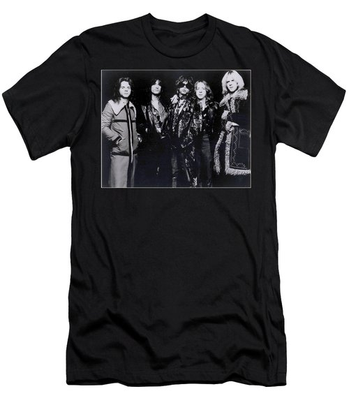 Aerosmith - America's Greatest Rock N Roll Band Men's T-Shirt (Slim Fit) by Epic Rights