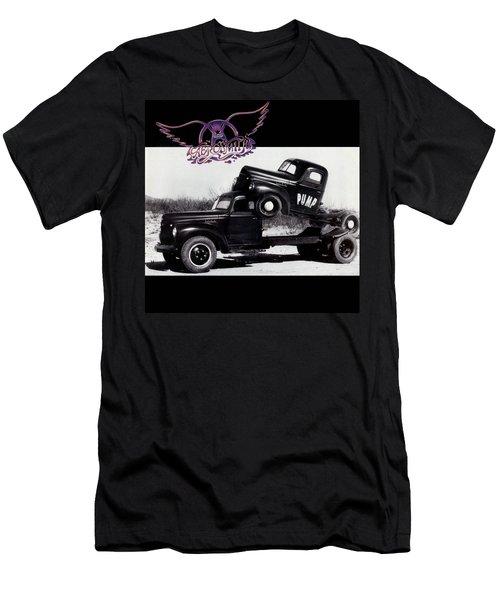 Aerosmith - Pump 1989 Men's T-Shirt (Slim Fit) by Epic Rights