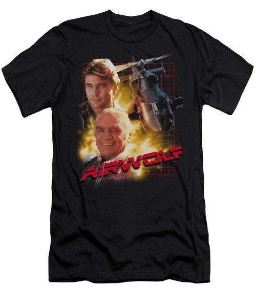Airwolf - Airwolf Men's T-Shirt (Slim Fit) by Brand A