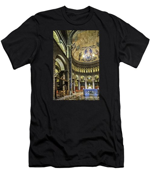Altar Men's T-Shirt (Slim Fit) by Maria Coulson
