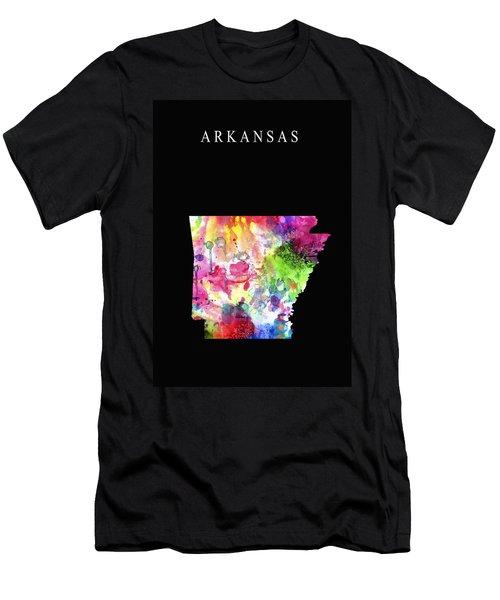 Arkansas State Men's T-Shirt (Slim Fit) by Daniel Hagerman